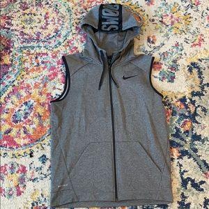 Nike Therma Training Hoodie Vest Dri-Fit Men's M